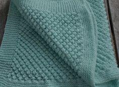 Easy popcorn stitch knit pattern free