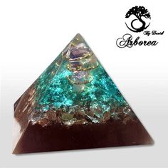 Emf Protection orgonite orgone generator pyramid Reiki infused top quality Handmade By David Arborea