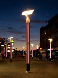 pedestrian street light
