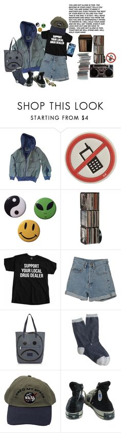 """""""fairly local"""" by mangobaby ❤ liked on Polyvore featuring Urban Outfitters, Anya Hindmarch, CB2, PèPè, Marc by Marc Jacobs, J.Crew, Converse and ...Lost"""
