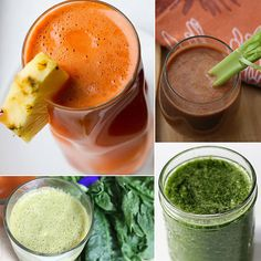 12 Recipes Where Veggies Taste Better Sipped Than Dipped.  Veggie/fruit juices and smoothies: fitsugar