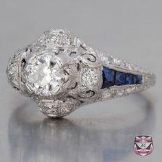 Antique Engagement Ring - Art Deco Original
