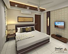 Guest bedroom 1 asian style bedroom by homify asian Bedroom Pop Design, Bedroom False Ceiling Design, Wardrobe Design Bedroom, Bedroom Furniture Design, Bed Design, Bedroom Designs, Bedroom Ideas, House Design, Gate Design