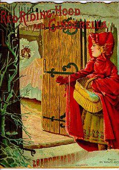 Красная шапочка-Старинные иллюстрации и картины. Обсуждение на LiveInternet - Российский Сервис Онлайн-Дневников