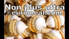 Non plus Ultra, leckeres Plätzchen Rezept, schmelzen im Mund - euromeal.com Non Plus Ultra, Garlic, Vegetables, Food, Bakken, Recipes, Vegetable Recipes, Eten, Veggie Food