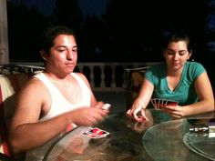 Playing UNO