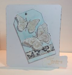 Card designed by Marie Chillmaid Craftwork Cards, Butterfly Kisses, Collections, Projects, How To Make, Inspiration, Ideas, Design, Log Projects