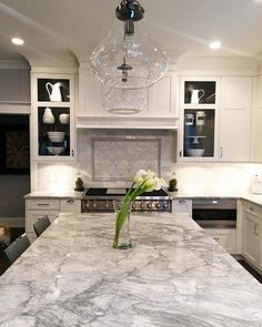 Kitchen lighting. I wanted to create juxtaposition with all my glam going on…