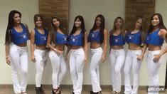 WHITE LOOK. BLACK THE TIME JEANS. Evento Chicas Car Audio, Colombia en Bucaramanga. 2015