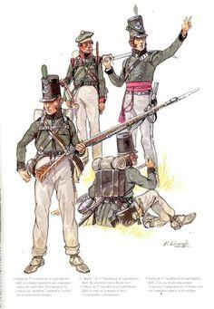 95th Regiment (Rifles), Spain, 1809
