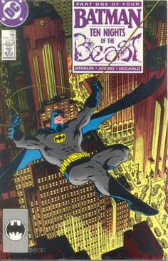 For sale dc comics batman 417 418 419 420 complete 10 ten nights of the beast jim starlin cover artwork mike zeck first appearance kgbeast comic books emorys memories. Comic Books For Sale, Comic Book Pages, Vintage Comic Books, Comic Book Covers, Vintage Comics, Dc Comics, Cosmic Comics, Batman Comics, Batman Art