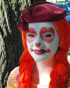 Girl clowns images 1