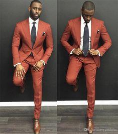 2019 Men Wedding Suits Two Button Peaked Lapel Slim Fit Business men prom suits Custom Made (Jacket+Vest+Pants+Tie) Big Men Fashion, Trend Fashion, Mens Fashion Suits, Mens Suits, Mens Tux, Style Fashion, Feminine Fashion, Classy Fashion, Fashion Design