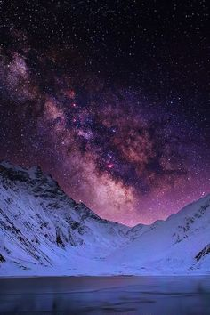 sky upload stars starry clouds colors mountains nature colorful milky way sunset mountain starry night ft Beautiful Sky, Beautiful World, Beautiful Places, Beautiful Pictures, Beautiful Landscapes, Ciel Nocturne, Jolie Photo, Milky Way, Night Skies