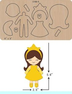 New Princess Wooden Die Cutting Dies Scrapbooking feltThe thickness is and is compatible with most leading DIY felt crafts projects ideas you need to know. Easy Felt Crafts, Foam Crafts, Felt Diy, Diy Crafts, Felt Dolls, Paper Dolls, Sock Dolls, Rag Dolls, Fabric Dolls