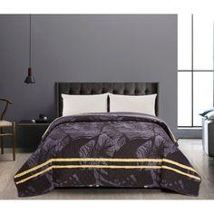 DecoKing Tropical ágytakaró, 220 x 240 cm Bed Sheets, Comforters, Bedroom Decor, Tropical, Blanket, Interior Design, Grey, Furniture, Home Decor