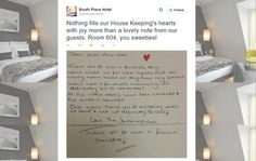 Great Twitter post from South Place Hotel in London, Greater London / Sympathique post Twitter de South Place Hotel à Londres https://twitter.com/southplacehotel/status/567632103160832000