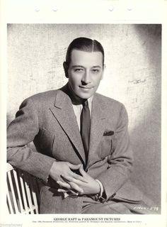 George Raft Original Vintage '35 Paramount KEY Book Portrait Photo THE Glass KEY | eBay