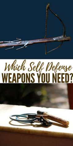 Which Self Defense Weapons You Need? - This article is a overview of the many self-defense options that are out there. You will find that there are many options. Some are going to be more effective than others and some more practical. Choose what fits your skill level and situation.