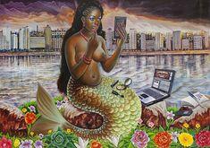 Mamba Muntu (Mami Wata) by Congolese artist JP Mika