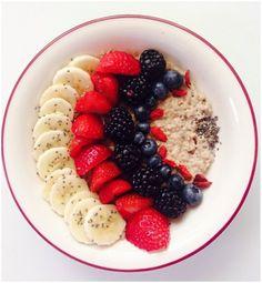 Berry good: http://intothegloss.com/2014/01/instagram-photos-of-food/