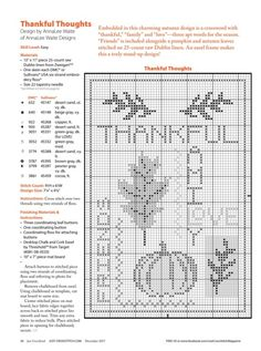 Fall Cross Stitch, Cross Stitch Thread, Cross Stitch Bookmarks, Cross Stitch Finishing, Cross Stitch Needles, Cross Stitching, Disney Cross Stitch Patterns, Counted Cross Stitch Patterns, Cross Stitch Designs