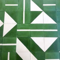 We've fallen for these gorgeous geometric floor tiles this week... …