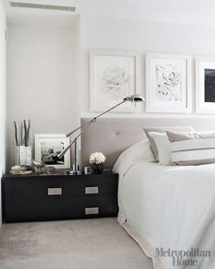 white wardrobe: Kelly Hoppen Townhouse @ London