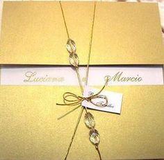 convite de bodas de ouro moderno - celebre conosco suas bodas de casamento