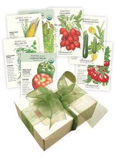 Basic Bounty Veggie Garden Seed Collection $14