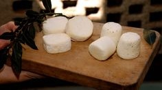 Formaggini semi-soft cheese, great to spread on crackers.
