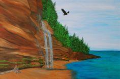 """Mystic Beach"" prints are available through info@aframestudios.ca"