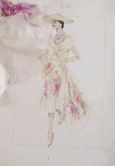 Norman Hartnell  Fashion designs for H.M. Queen Elizabeth II