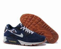 new style 80139 51806 chaussure nike air max 90 pour homme,air max 90 print bleu