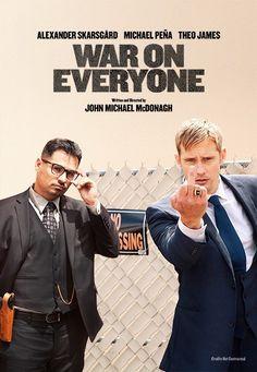 Deauville 2016/ Critique de Au-dessus des lois (War on Everyone) de John Michael McDonagh, présente en avp. Pas encore de date de sortie.