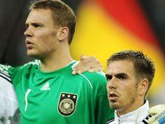 Manuel Neuer & Philipp Lahm