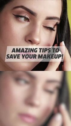 Don't let your makeup go to waste with these tips! Make Beauty, Beauty Tips For Skin, Beauty Makeup Tips, Glam Makeup, Skin Makeup, Makeup Hacks Videos, Makeup Artist Tips, Makeup Looks Tutorial, Make Up Videos