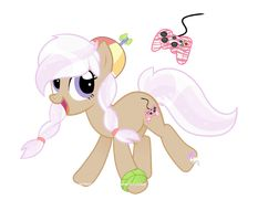Gamer,  Her best friend is Star Storm (on my my little pony board)