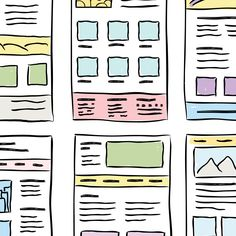 Color can play a role in decision-making, perception, and emotional response—and therefore it should play a big role in UX. Ux Design, Layout Design, Design Elements, Emotional Meaning, Inside Design, Web Design Inspiration, Big Picture, Designs To Draw