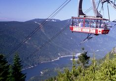 Grouse Mountain in Vancouver Canada