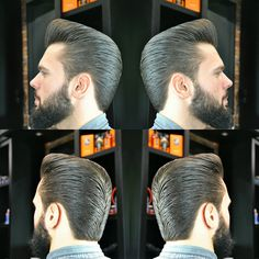 Pompadour Style Modern Mens Rockabilly Hairstyles Hair Men Classic Cuts Male Man Cut