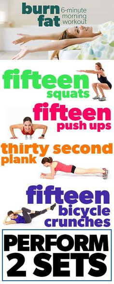 Burn more fat: A morning workout inforgraphic