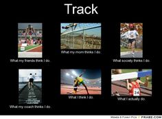Track and field what people think... Track is awesome if ur not sure about it try it and you'll love it! I was unsure at first and now I'm a state champ!