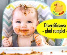 Diversificarea bebelusului: un ghid complet Toddler Meals, Baby Food Recipes, Children, Kids, Parenting, Baby Foods, Recipes For Baby Food, Young Children, Young Children