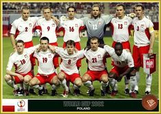 Poland team group at the 2002 World Cup Finals.