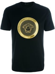 embroidered Medusa T-shirt - Brought to you by Avarsha.com