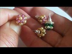 Free Beading Tutorials, Jewelry Making Tutorials, Beading Projects, Jewelry Making Beads, Bead Jewellery, Beaded Jewelry, Handmade Jewelry, Beaded Earrings Patterns, Beading Patterns