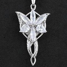 Lord of the Rings Elf Princess | Necklace-pendant-Amulet-Lord-of-the-Rings-Elven-Princess-Arwen-The ...