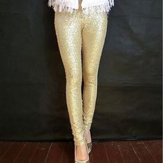 Goedkope S XL 3 Kleuren Plus Size vrouwen Leggings Mode Bling Sequin Shining Goud Zwart Zilver Spangle Sequin Formele Vrouwen Leggings, koop Kwaliteit leggings rechtstreeks van Leveranciers van China:            itemS-XL 3 Kleuren Plus Size vrouwen Leggings Mod