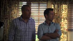 "Burn Notice 4x03 ""Made Man"" - Michael Westen (Jeffrey Donovan) & Jesse Porter (Coby Bell)"